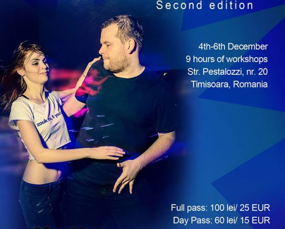 Martin & Nicol Zouk workshops, 2nd event in Timisoara