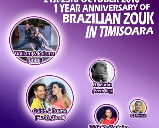 William & Paloma, 1st Brazilian Zouk Festival in Timisoara