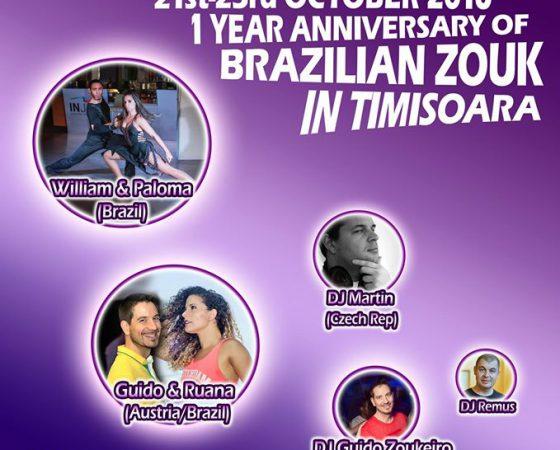 William & Paloma, 1st Brazilian Zouk Festival in Timisoara