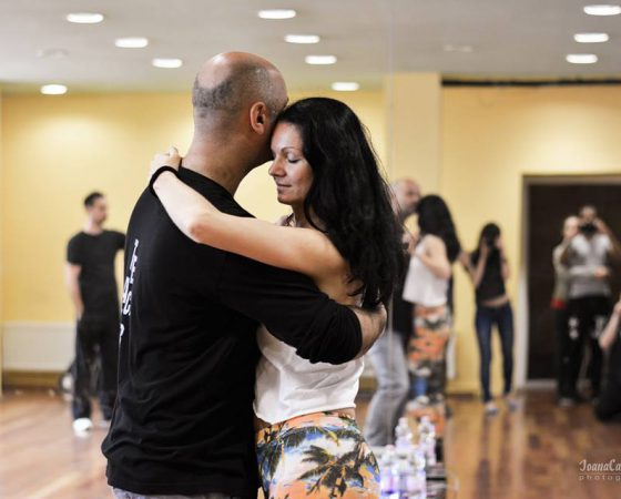 Pavla and Ludek – zouk demo